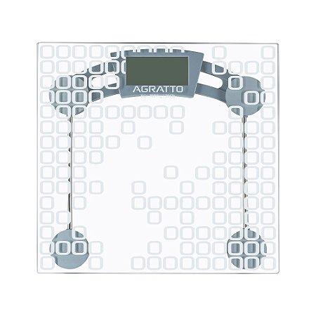 Balança Digital Vidro LEVVE BL04 Capacidade 180Kg Agratto