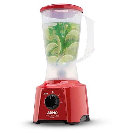 Liquidificador Arno Power Mix 550 Vermelho LQ11 110v