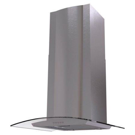 Coifa de Parede Gourmet Cadence Vidro Curvo 60cm CFA361 220v