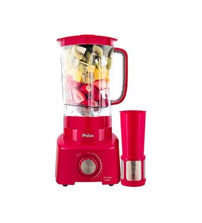 Novo Liquidificador Ph900 1200w 3 Litros Philco Vermelho 127