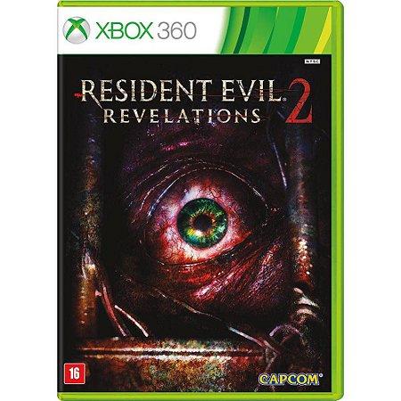 Resident Evil Revelations 2  Xbox 360 -  Midia Fisica