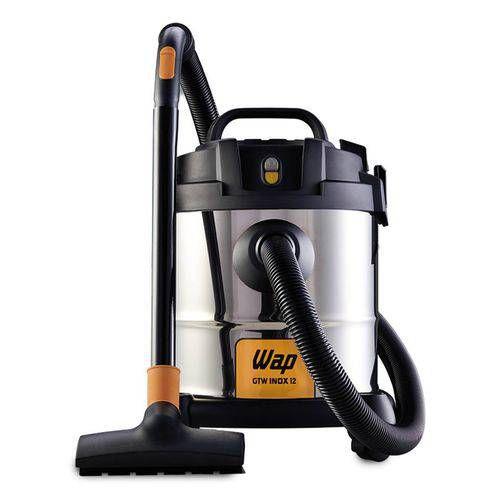 Aspirador De Pó E Água 1400w GTW Inox 12 Litros Wap 220v