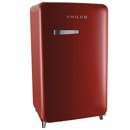 Frigobar PFG120 Vintage Vermelho 121 Litros Philco 127v
