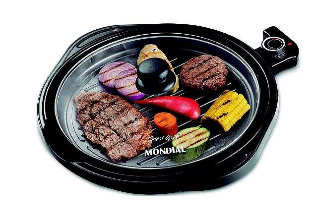 Grill Redondo Smart G-04 Mondial - 220v