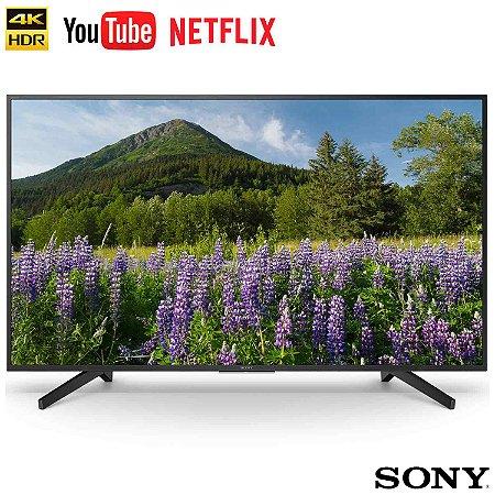 """Smart TV LED 55"""" UHD 4K Sony BRAVIA KD-55X705F X-Reality Pro"""