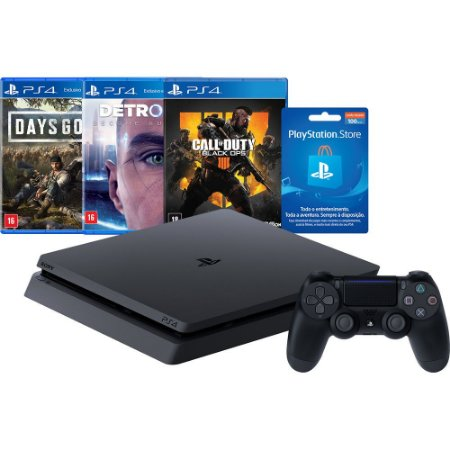 Console Playstation 4 1TB Hits Bundle Edição 5.1 - PS4