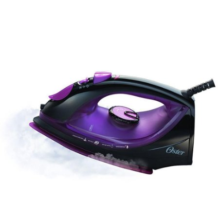 Ferro a Vapor Oster 5956 Antiaderente Preto e Roxo 220v