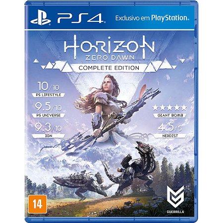 Game Horizon Zero Dawn Complete Edition - PS4