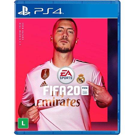 Game FIFA 20 Mídia Física - PS4
