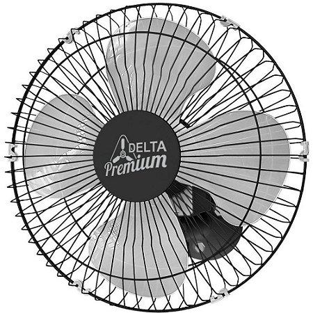 Ventilador de Parede Venti-Delta 50 cm Preto Premium Bivolt