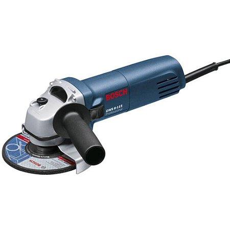 Esmerilhadeira Angular GWS 6-115 Professional Bosch 127v
