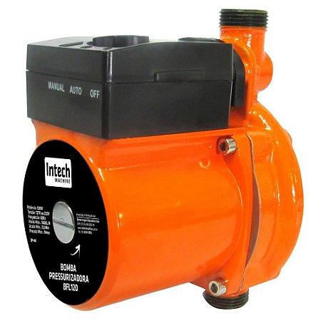 Bomba de Água Pressurizadora BFL120 Intech Machine 220v