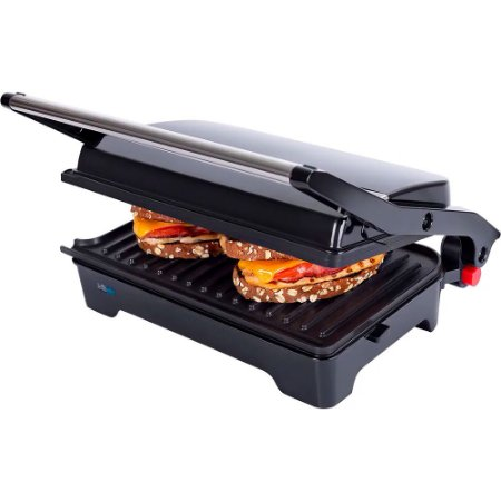 Grill Cadence Multiuso Club Black GRL620 110v