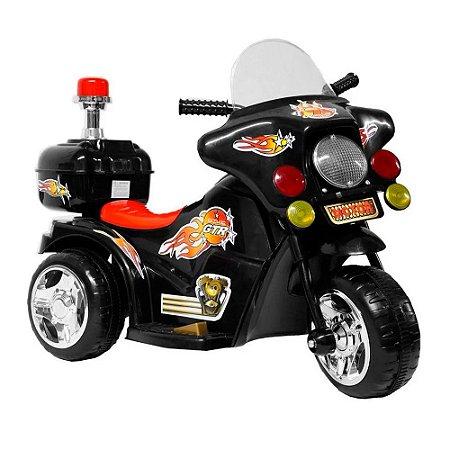 Mini Moto Elétrica Infantil Recarregável BW006-PR Importway