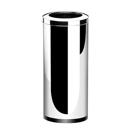 Lixeira Press Inox Com Aro 28 Litros Decorline Brinox