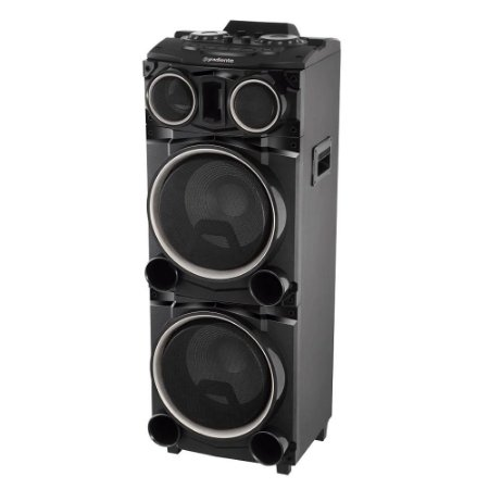 Caixa Amplificada Power Bass GCA103 Bluetooth USB 1500W Gradiente