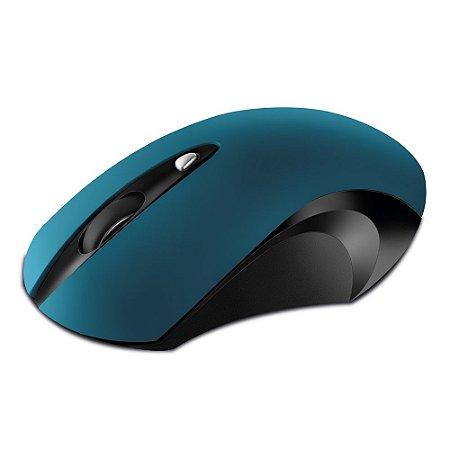 Mouse Ótico Sem Fio Movitec Office Azul OMW-04