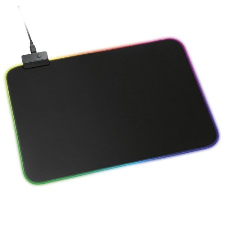 Mousepad Gamer LED RGB Base Emborrachada XZone GMP-01