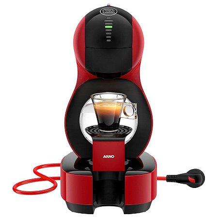 Cafeteira Nescafé Dolce Gusto Lumio Vermelha DGL6 Arno 220V