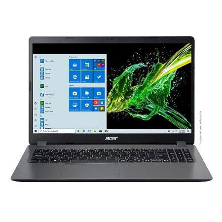 Notebook Acer Aspire 3 Intel Core i3 4GB 1TB Windows 10 A315-54K-31E8 Cinza