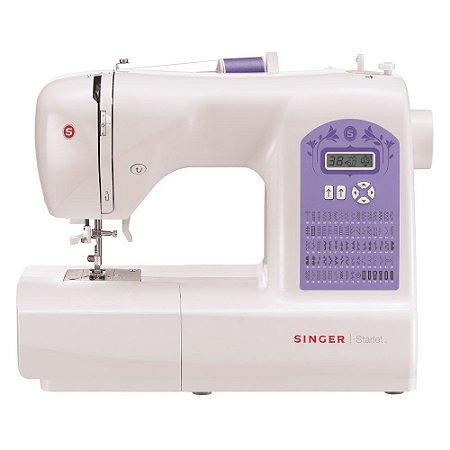 Máquina de Costura Doméstica Starlet 6680 Singer 220v