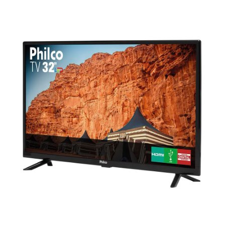 TV LED 32'' Philco PTV32G50D Receptor Digital 2 HDMI 1 USB