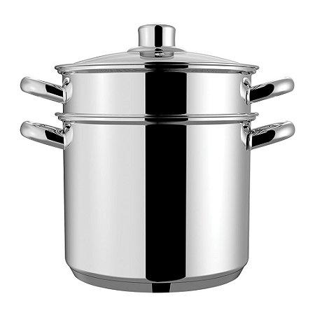 Espagueteira Savoy Caldeirão Ø20 4,8 Litros Aço Inox Brinox
