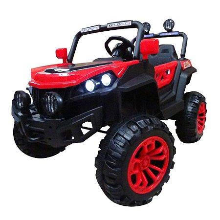 Quadriciclo Infantil Eletrico Vermelho BW085VM 12v Importway