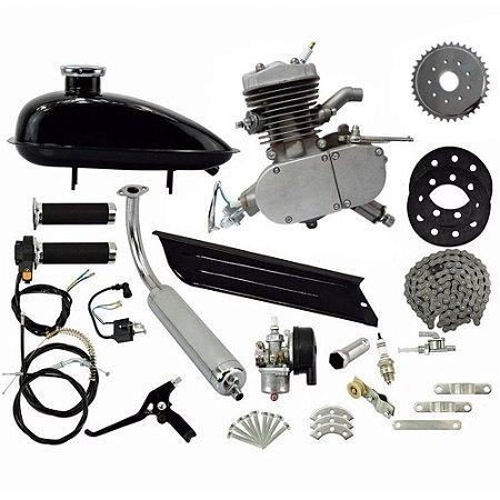 Kit Motor 2 Tempos 80CC Gasolina Bicicleta IWMB802 Importway