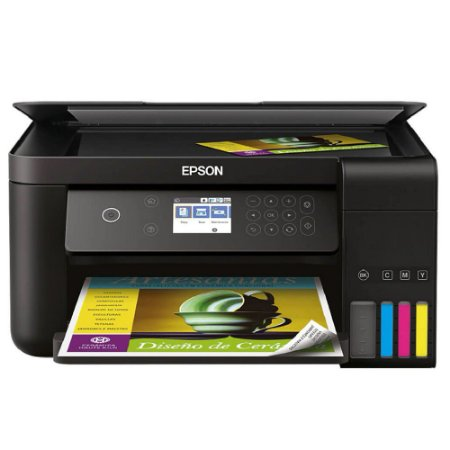 Impressora Multifuncional Epson Tanque Tinta Ecotank L6161