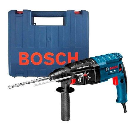 Martelete Perfurador e Rompedor GBH 2-24D 820W Bosch 220v