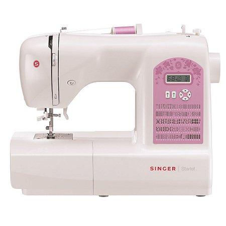 Máquina de Costura Doméstica Starlet 6699 Singer 127v
