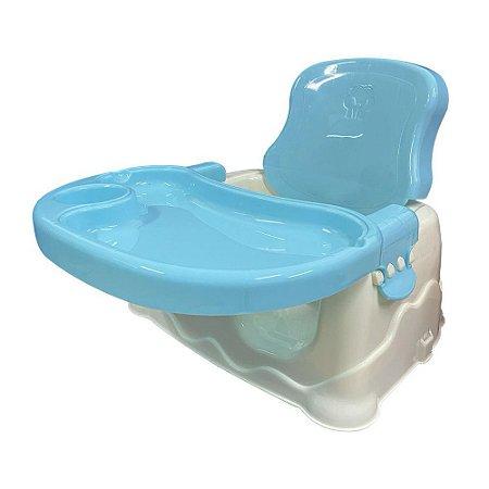 Cadeirinha Alimentação Bebê Booster BW096AZ Azul Importway