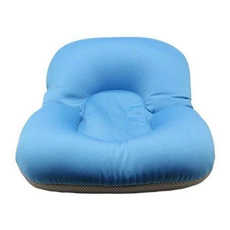 Almofada Para Banho Banheira Bebê BW074AZ Azul Importway
