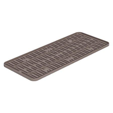 Tapete de Pia Warm Gray Single Coza 42,2x17,4x1cm Brinox