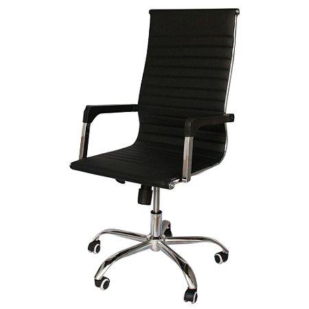 Cadeira Presidente Esteirinha Preto IWCPE-001 Importway