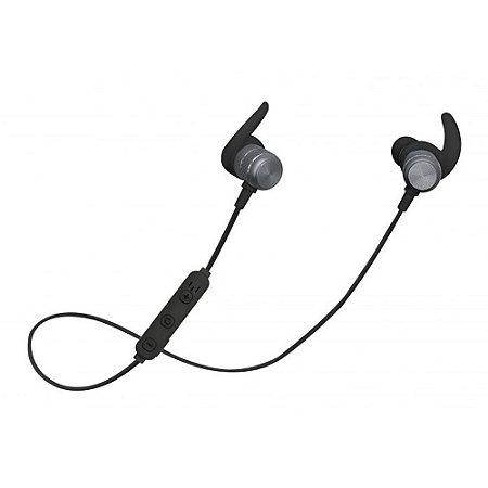 Fone Ouvido Bluetooth Intra-Auricular Aermove Preto Geonav