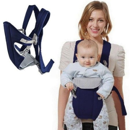 Canguru Conforto Porta Bebê 3x1 Azul Marinho IWPB Importway