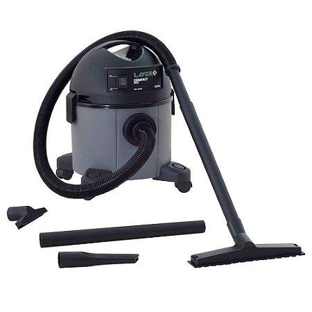 Aspirador Pó e Líquidos Compact Cinza 1250W Lavor 127v