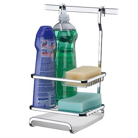 Suporte Sabão/Detergente/Esponja Aço Cromado 2804 Future