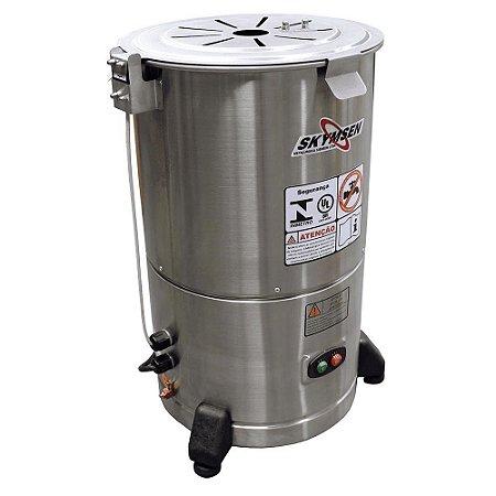 Descascador De Legumes DB-06 Inox Capacidade 6kg Skymsen 110v