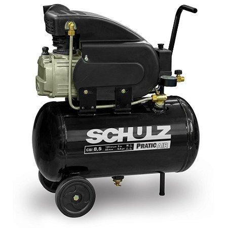 Compressor de Pistão Pratic Air CSI 8,5/25 2CV Schulz 220v