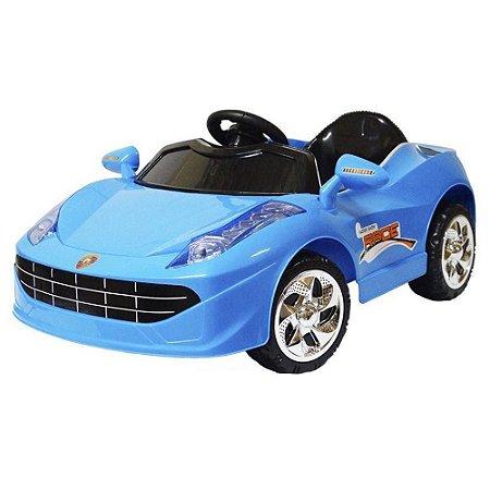 Mini Carro Elétrico Infantil 6V Azul BW-005A Importway