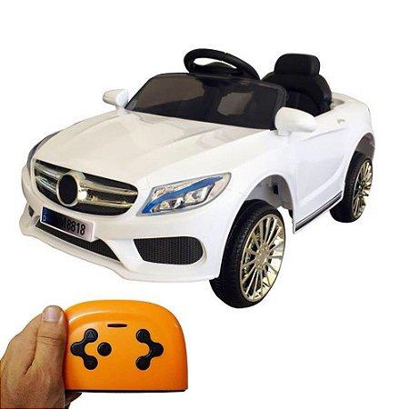 Mini Carro Elétrico Infantil 6V Branco BW-007BR Importway