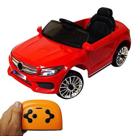 Mini Carro Elétrico Infantil 6V Vermelho BW-007VM Importway