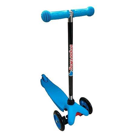 Patinete Infantil 3 Rodas Regulável Azul BW011 Importway