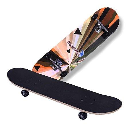 """Skate 31"""" Com Rodas 50mm BW014 Importway"""