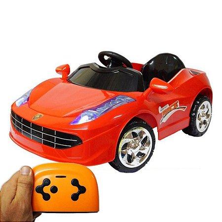 Mini Carro Elétrico Infantil 6V Vermelho BW-097VM Importway