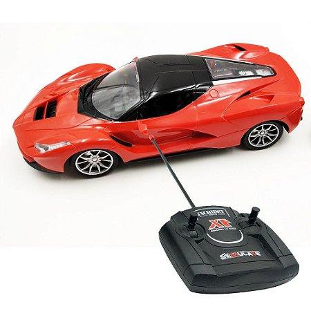 Carrinho Controle Remoto MC Laren P1 1:16 Vermelho BW025 Importway