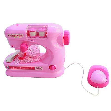 Máquina de Costura Infantil Mini Atelie BW035RS Importway